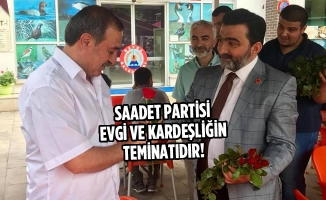 Öcal, Türkeş Parkı Ve Bulvarda Vatandaşlara Gül Takdim Etti