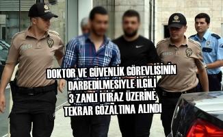 Samsun'da Doktor ve Güvenlik Görevlisinin Darbedilmesi