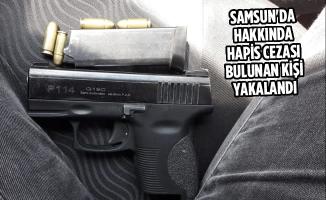 Samsun'da Hakkında Hapis Cezası Bulunan Kişi Yakalandı