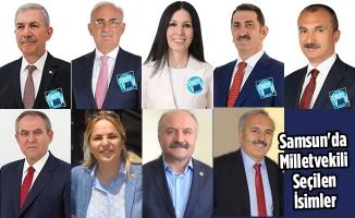 Samsun'da Milletvekili Seçilen İsimler Belli Oldu