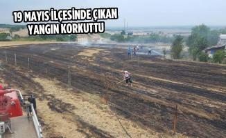 19 Mayıs'ta Çıkan Yangın Korkuttu