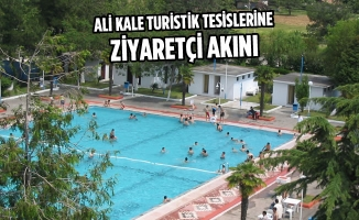 Ali Kale Turistik Tesislerine Ziyaretçi Akını