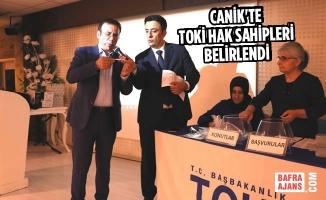 Canik'te TOKİ Hak Sahipleri Belirlendi