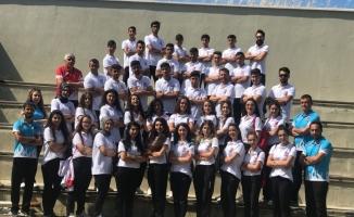 Curling Milli Takımı, dünya şampiyonasına Samsun'da hazırlanıyor