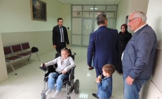 Davada uzlaşı engelli çocuğun sevinci oldu