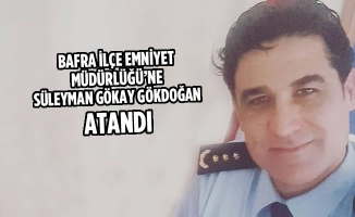 İlçe Emniyet Müdürlüğü'ne Süleyman Gökay Gökdoğan Atandı