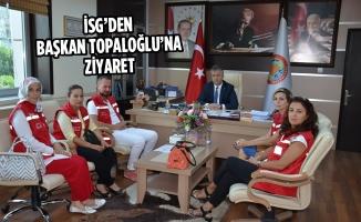 İSG'den Başkan Topaloğlu'na Ziyaret