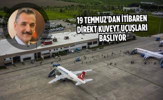 Samsun Çarşamba Havalimanı İstatistikleri Açıklandı