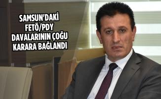 Samsun'daki FETÖ/PDY Davalarının Çoğu Karara Bağlandı