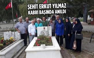 Şehit Erkut Yılmaz Kabri Başında Anıldı