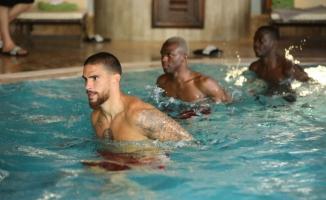 Sivasspor havuzda çalıştı