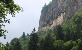 Sümela Manastırı kapalı döneminde bile rağbet görüyor