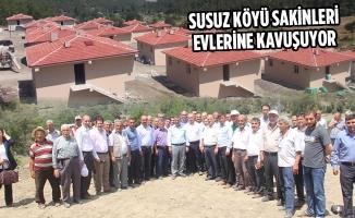 Susuz Köyü Sakinleri Evlerine Kavuşuyor