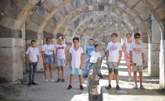 TOTAL ile çocuklar tarihi yerinde öğreniyor