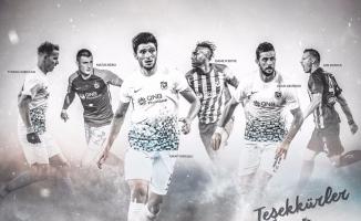 Trabzonspor'dan, takımdan ayrılan eski oyuncularına teşekkür