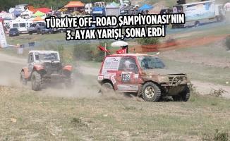 Türkiye Off-Road Şampiyonası'nın 3. Ayak Yarışı, Sona Erdi