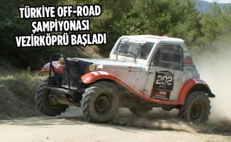 Türkiye Off-Road Şampiyonası Vezirköprü Başladı