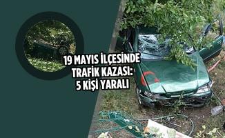 19 Mayıs İlçesinde Trafik Kazası: 5 Yaralı