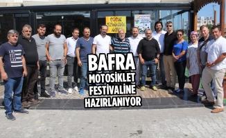Bafra; Motosiklet Festivaline Hazırlanıyor