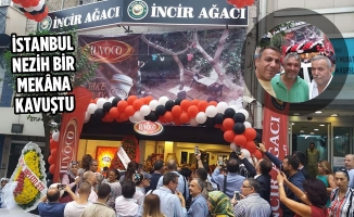 Bafralılar İncir Ağacı Cafe'nin Açılışına Katıldı