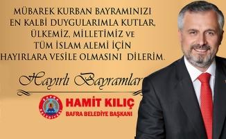 Başkan Kılıç'ın Kurban Bayramı Mesajı