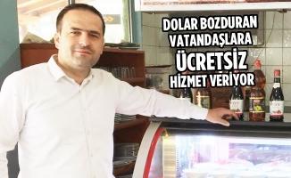 Kavak İlçesinde Türk Lirasına Esnaf Desteği