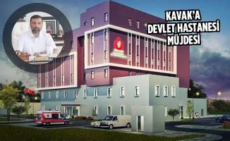 Kavak'a Devlet Hastanesi Müjdesi