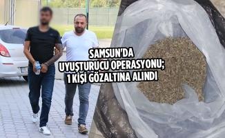 Samsun'da Uyuşturucu Operasyonu; 1 Gözaltı