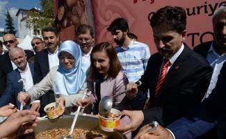 Cumhurbaşkanlığından Tokat'ta aşure ikramı
