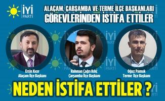 İYİ Partili Üç İlçe Başkanı Görevlerinden İstifa Etti