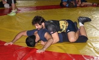 Milli güreşçiler Macaristan'da kürsüye çıkmak istiyor