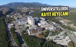 OMÜ ve Samsun Üniversitesi'nde Kayıtlar Başladı