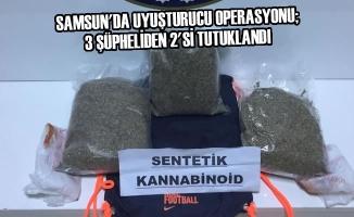 Samsun'da Uyuşturucu Operasyonu; 3 Şüpheliden 2'si Tutuklandı