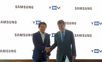 Samsung Electronics Türkiye ile TBV iş birliği anlaşması imzaladı