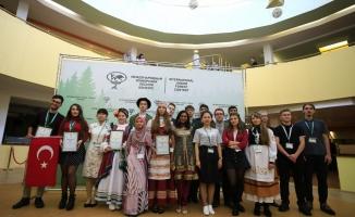 Türkiye'nin genç ormancıları Rusya'da