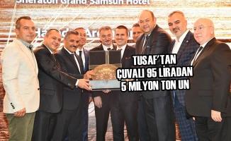 "TUSAF'tan ""Çuvalı 95 Liradan 5 Milyon Ton Un"""
