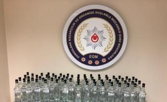 Zonguldak'ta sahte içki operasyonu