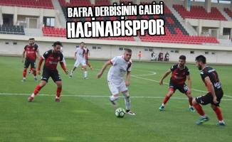 Bafra Derbisinin Galibi Hacinabisppor