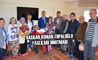 Başkan Osman Topaloğlu Yaşlıları Unutmadı
