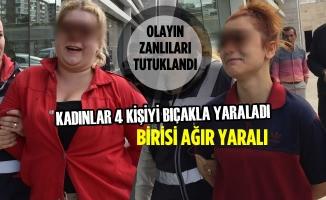 Samsun'da Bıçaklı Kavga; 4 Yaralı