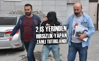 Samsun'da Hırsızlık Zanlısı Tutuklandı