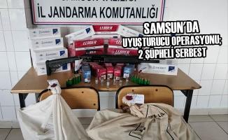 Samsun'da Uyuşturucu Operasyonu; 2 Şüpheli Serbest