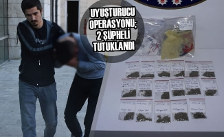 Samsun'da Uyuşturucu Operasyonu; 2 Şüpheli Tutuklandı
