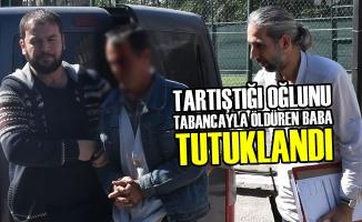 Tartıştığı Oğlunu Tabancayla Öldüren Baba Tutuklandı