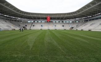 Yeni Ordu Stadı'nda çim serme işlemi tamamlandı
