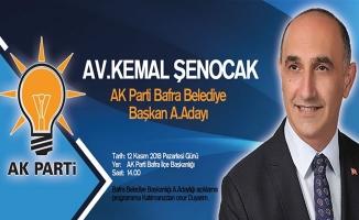 Av. Kemal Şenocak Aday Adalığını Açıklıyor