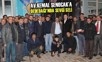 Av.Kemal Şenocak'a Dededağı'nda Sevgi Seli