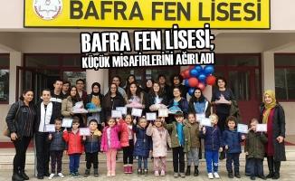 Bafra Fen Lisesi; Küçük Misafirlerini Ağırladı