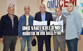 OMÜ Vakfı Koleji'nde Robotik Devri Başlıyor