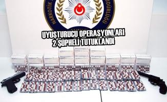 Samsun'da Uyuşturucu Operasyonları; 2 Şüpheli Tutuklandı
